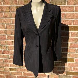 Ann Klein Suit Coat Jacket Orange Double Button